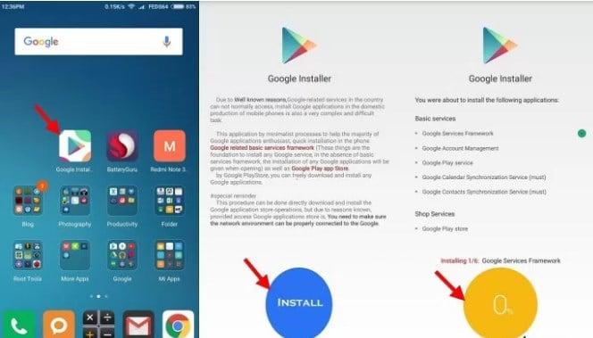 4 PILIHAN] Cara Install Playstore di Xiaomi ROM CHINA